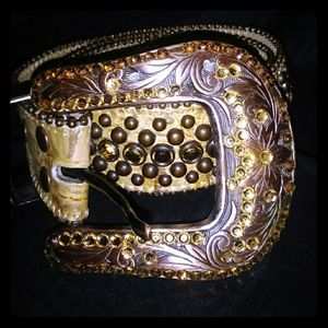 Accessories - B.B. Simon Swavorski Crystal Belt